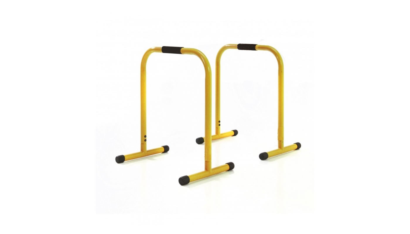 Pair of professional parallettes 83 cm high