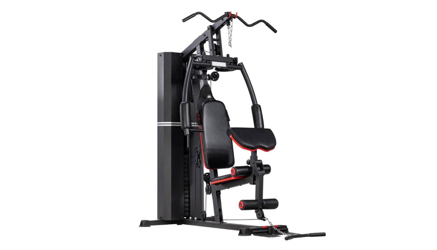 Multi-function gym station with weight pack 72 kg